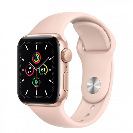Apple Watch SE 40mm Gold with Pink Sand Sport Band