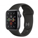 Apple Watch Series 5 GPS 40mm Space Gray with Black Sport Band