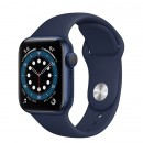 Apple Watch Series 6 40mm Blue with Deep Navy Sport Band