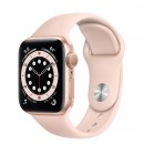 Apple Watch Series 6 40mm Gold with Pink Sand Sport Band