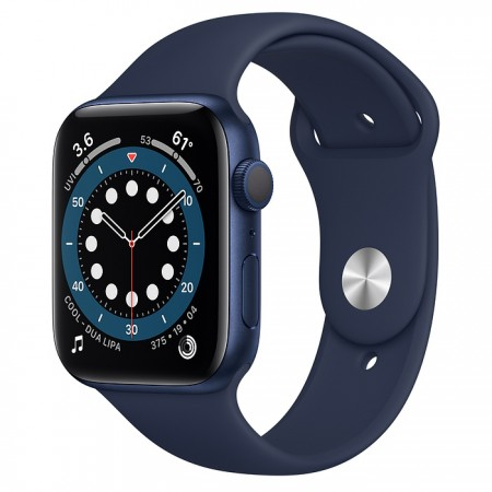 Apple Watch Series 6 44mm Blue with Deep Navy Sport Band
