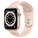 Apple Watch Series 6 44mm Gold with Pink Sand Sport Band