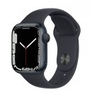 Apple Watch Series 7 41mm Midnight Aluminum Case with Midnight Sport Band