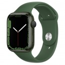 Apple Watch Series 7 45mm Green Aluminum Case with Clover Sport Band