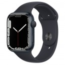 Apple Watch Series 7 45mm Midnight Aluminum Case with Midnight Sport Band