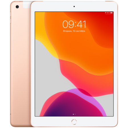 "iPad 10.2"" Wi-Fi+Cellular 32GB Gold (2019)"
