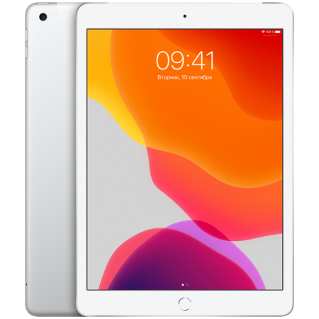 "iPad 10.2"" Wi-Fi+Cellular 128GB Silver (2019)"