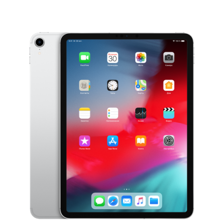 "iPad Pro 11"" Wi-Fi+Cellular 64GB Silver (2018)"