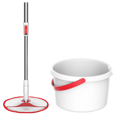Комплект для уборки iCLEAN Rotary Mop Set (YD-02)